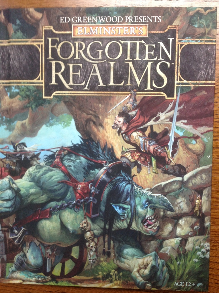 Elminster's Forgotten Realms Cover